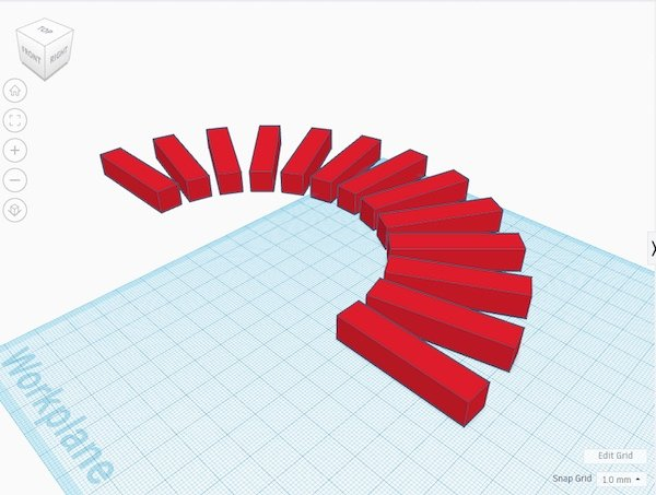 duplicate object in Tinkercad