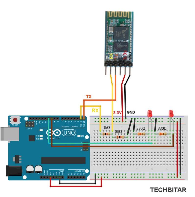 LED Blinking Using HC-05 | Arduino | Maker Pro