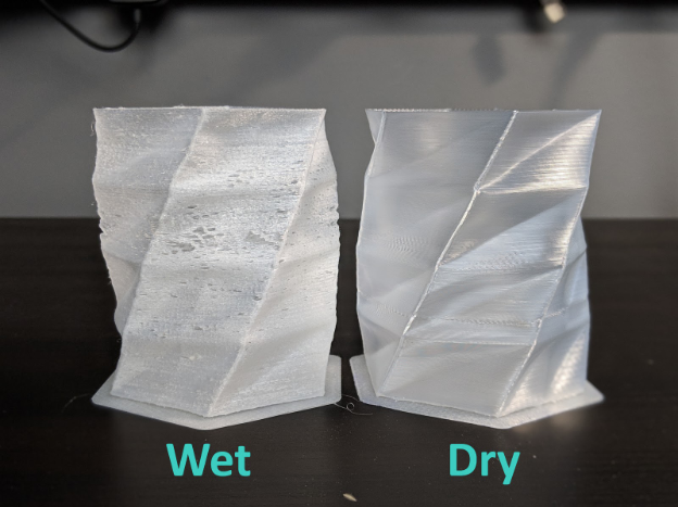 Wet vs Dry Nylon Filaments
