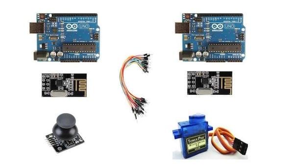 How to Control a Servo Motor Using Arduino UNO, a Joystick