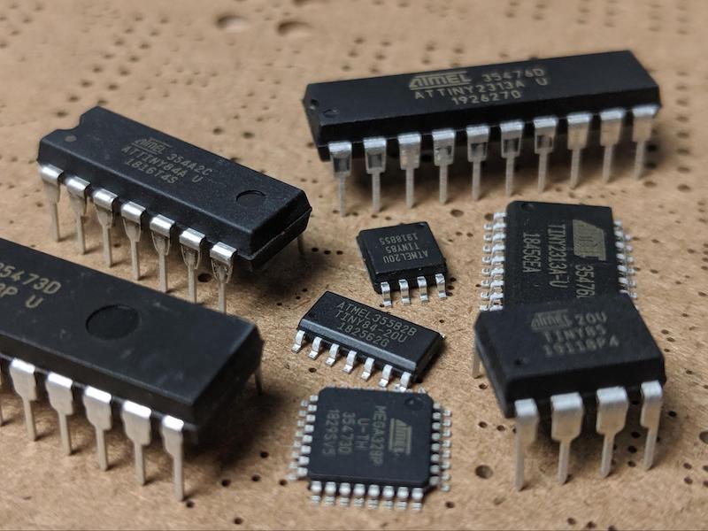 ATtiny microcontrollers