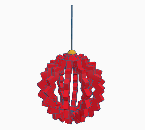 an example of tinkercad codeblocks design