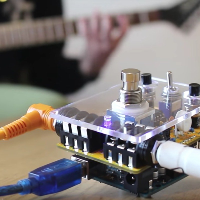 how to make a programmable guitar pedal with arduino arduino maker pro. Black Bedroom Furniture Sets. Home Design Ideas