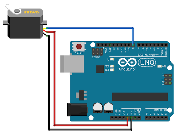 Control Servo Motors Through Voice Command Using Arduino