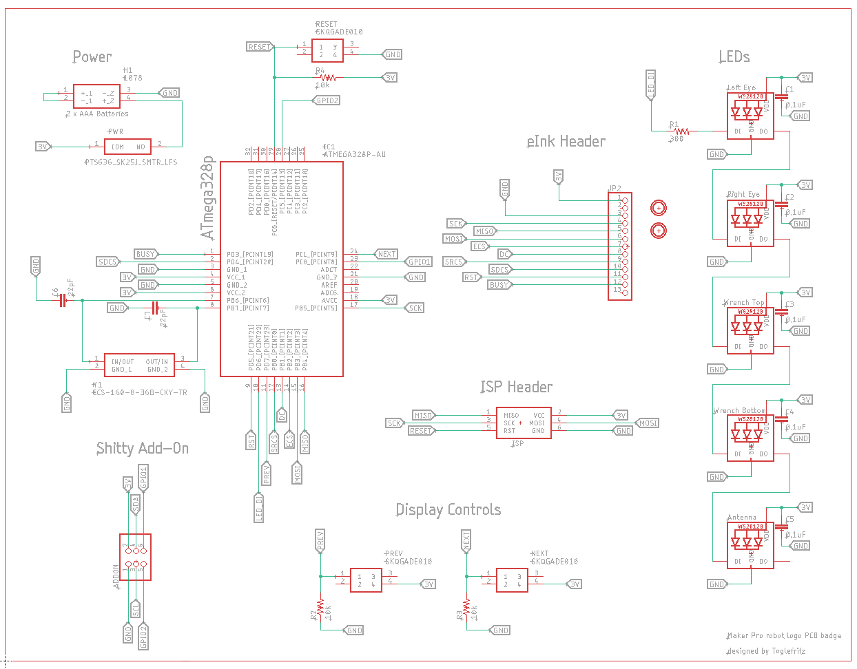 full maker pro robot page schematic
