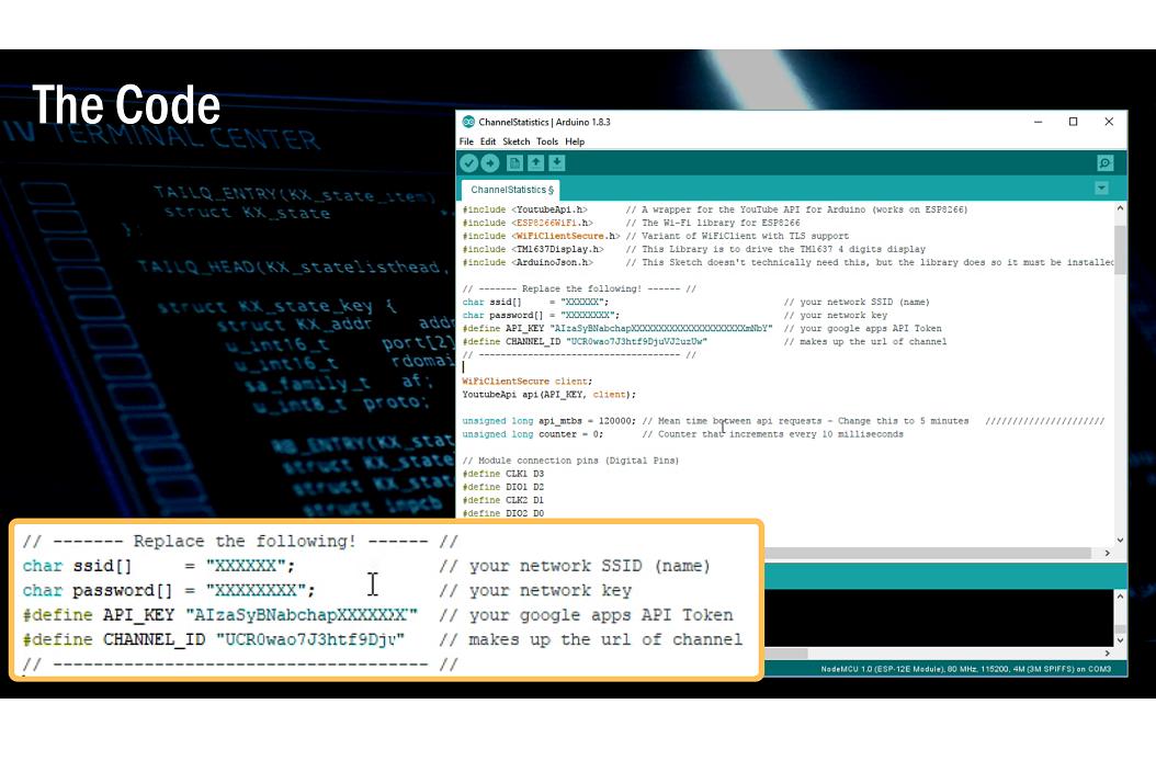 DIY - YouTube Desktop Notifier | Arduino | Maker Pro