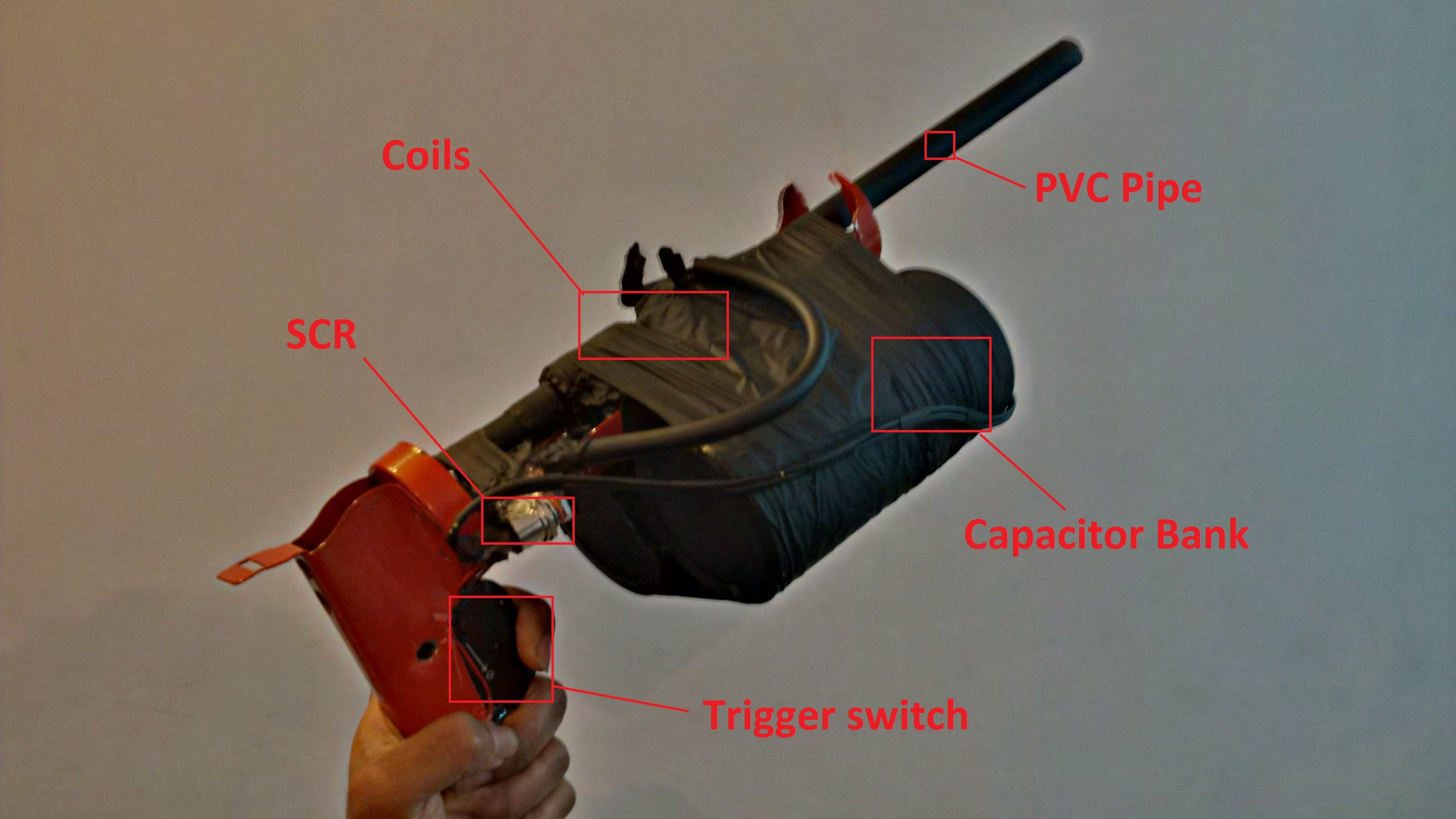 Electromagnetics: How to Make a Powerful DYI Coil Gun