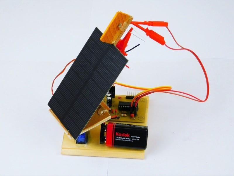 How to Make a Solar Panel Tracking System | PIC | Maker Pro