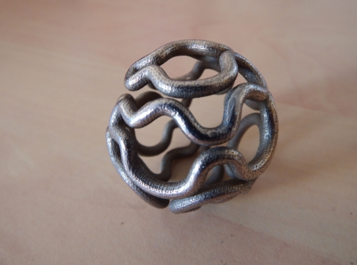 shapeways prints metal designs