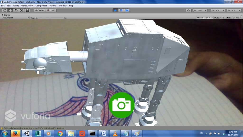 How to Set User-Defined Targets in Augmented Reality Using