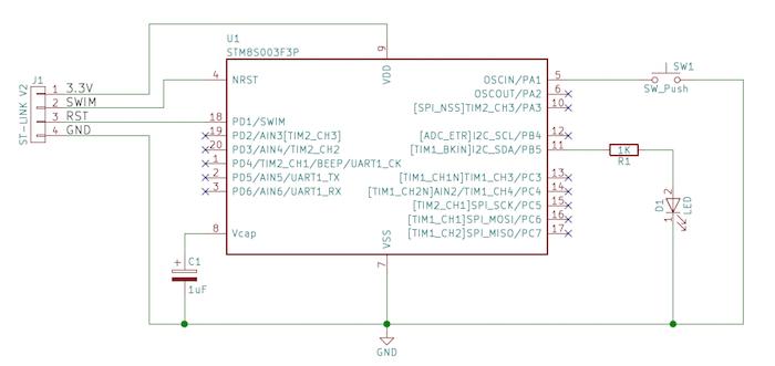 Using GPIO on STM8 Microcontrollers | Custom | Maker Pro on