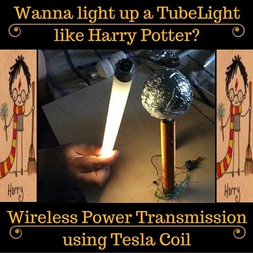 Wireless Power Transmission How To Make A Tesla Coil