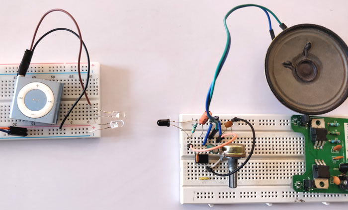 Infrared Circuit Diagram Additionally Infrared Receiver Demodulation