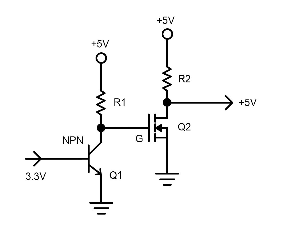 How To Use A Logic Level Shifter Circuit For Components With
