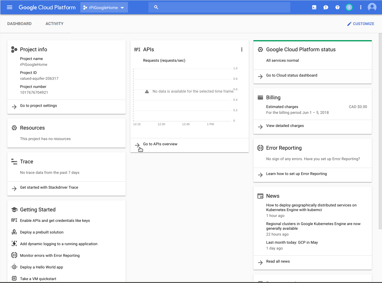 Raspberry Pi Google Assistant with Custom Device Actions | Raspberry