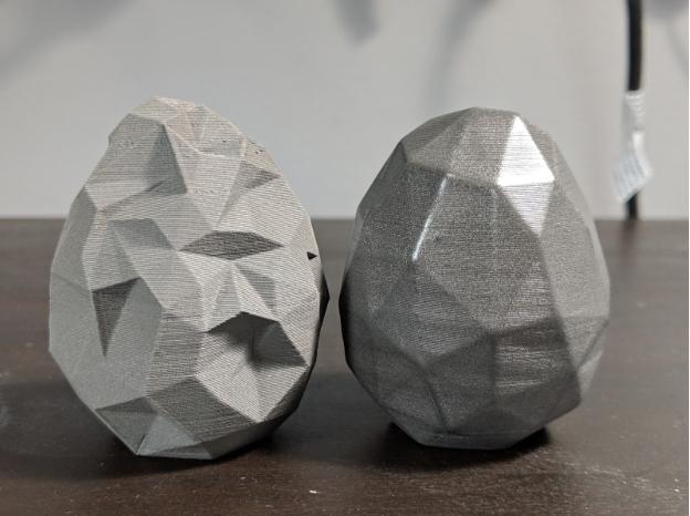Post-Process using rock tumblers