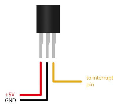 hall sensor pins