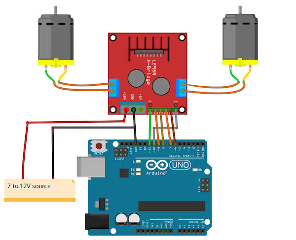 How to Connect a DC Motor to Arduino and Control it With