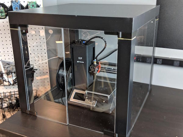 heated build platform for 3D printing