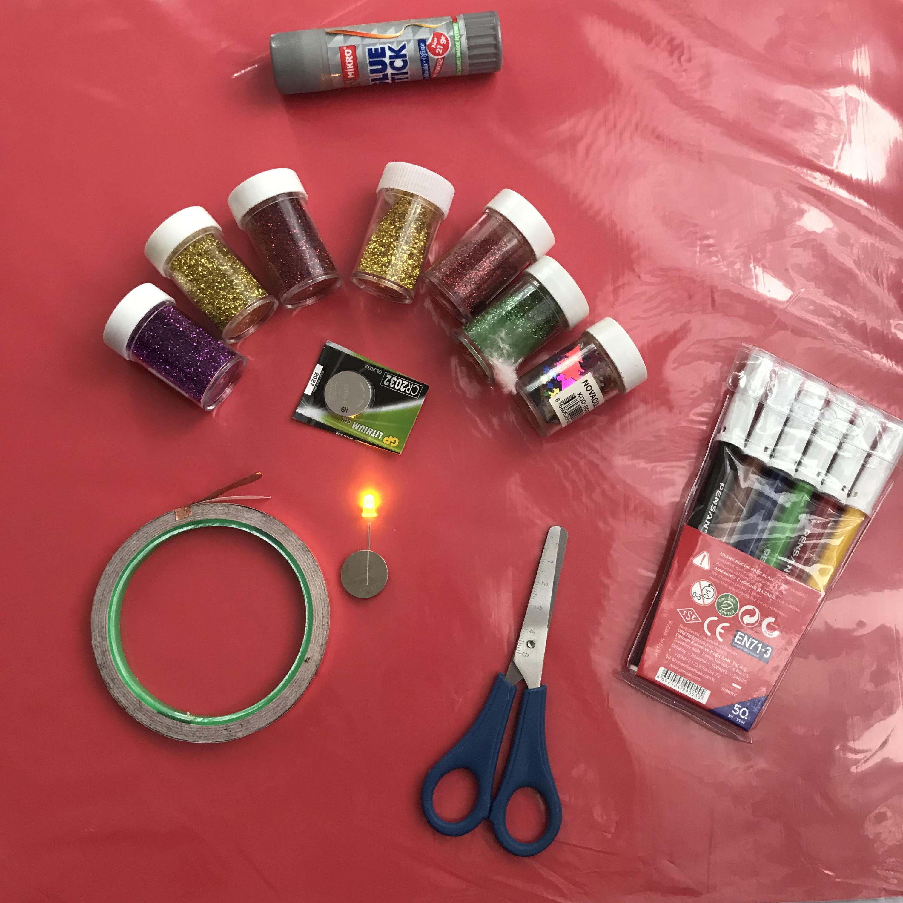 let's make a paper circuit birthday card  custom  maker pro