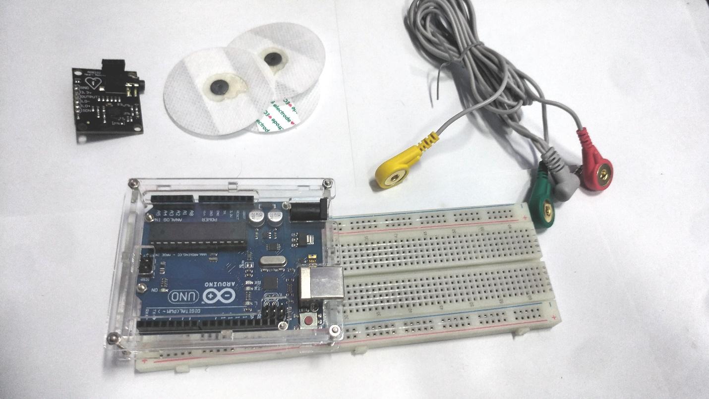 AD8232 and Arduino ECG Simulator | Arduino | Maker Pro