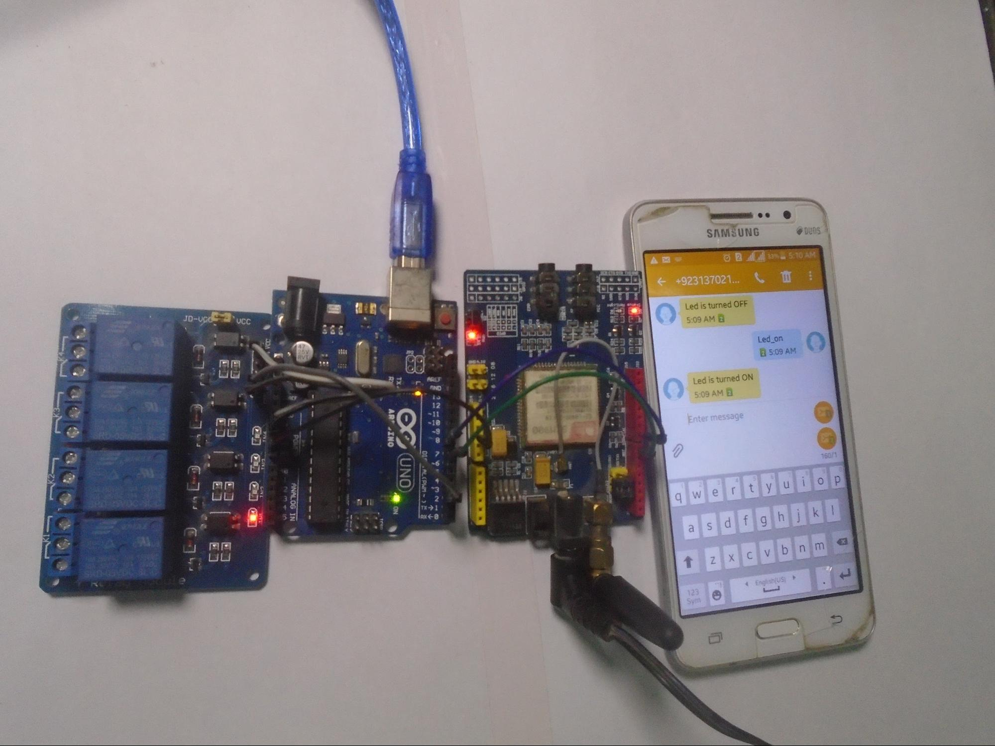 How to Use Arduino and a SIM900 to Control a Relay Through SMS