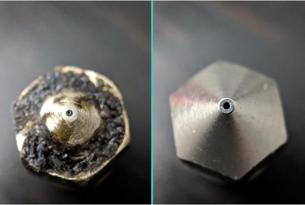 Standard Brass Nozzle Vs Hardened Nozzle