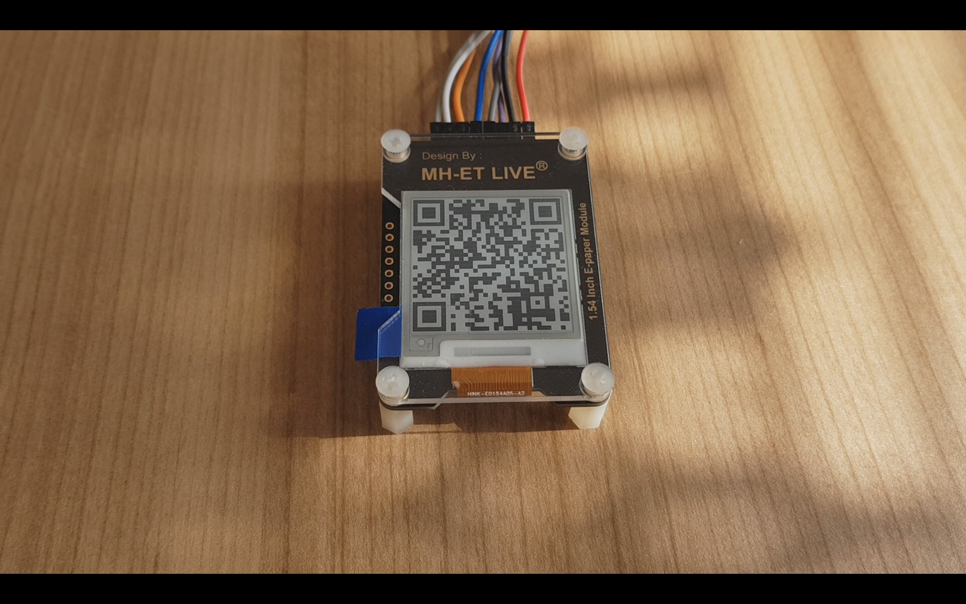 Simple e-ink display for your projects (MH-ET LIVE 1 54