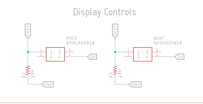 display controls in schematic