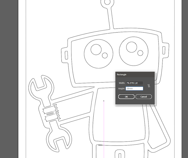adjust image in adobe illustrator