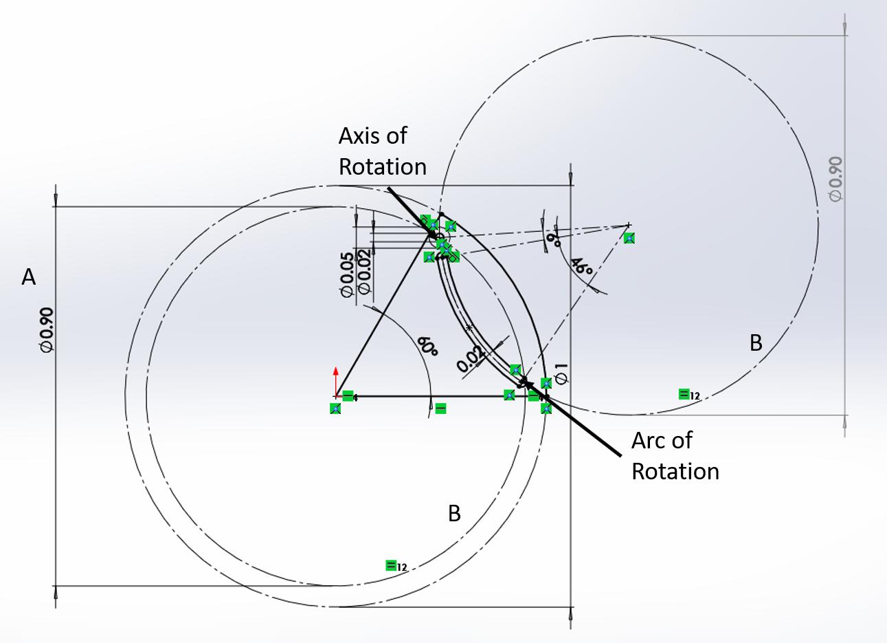 Iris Mechanism Basic Sketch