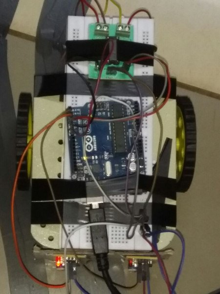 how to build a line follower robot