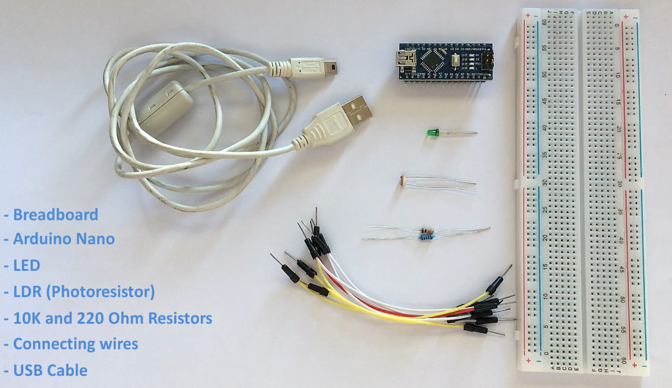 Using An Ldr Sensor With Arduino Maker Pro Simple Led Circuits Projects Electronics For This Very Diy Project We Need