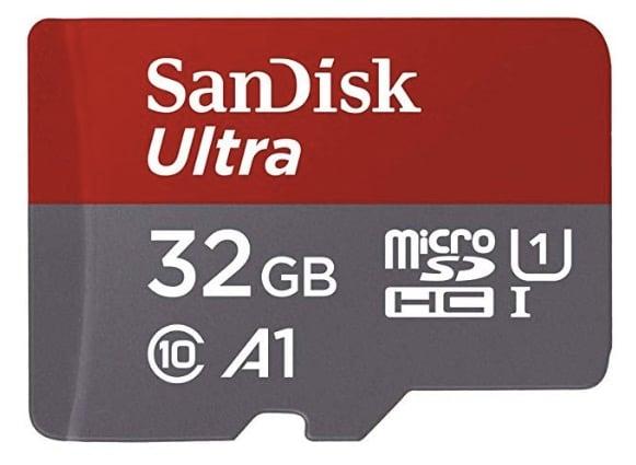 sandisk ultra 32GB micro sd card