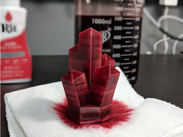 Model after Dye Process