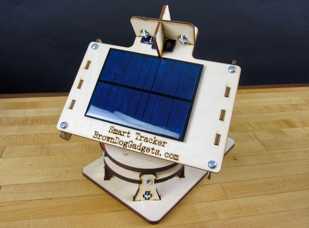 Dual Axis Solar Tracker V2 0 | Arduino | Maker Pro
