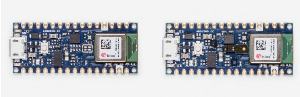 New Arduino Nano 33 BLE and BLE Sense with Arm Mbed OS Core
