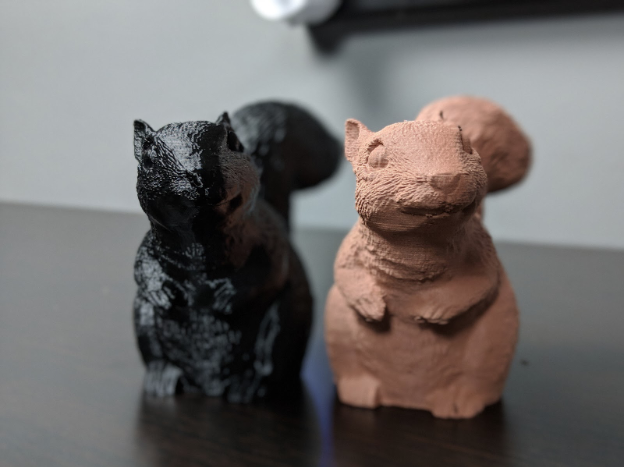 PLA与copperFill Prints
