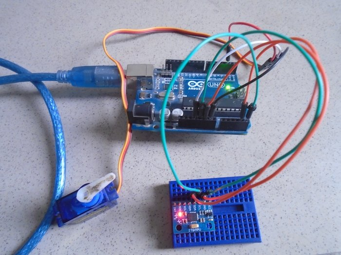 How to Control a Servo With an Arduino and MPU6050 | Arduino