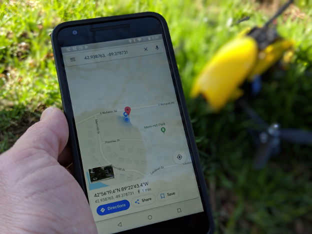 Navigating with Google Maps