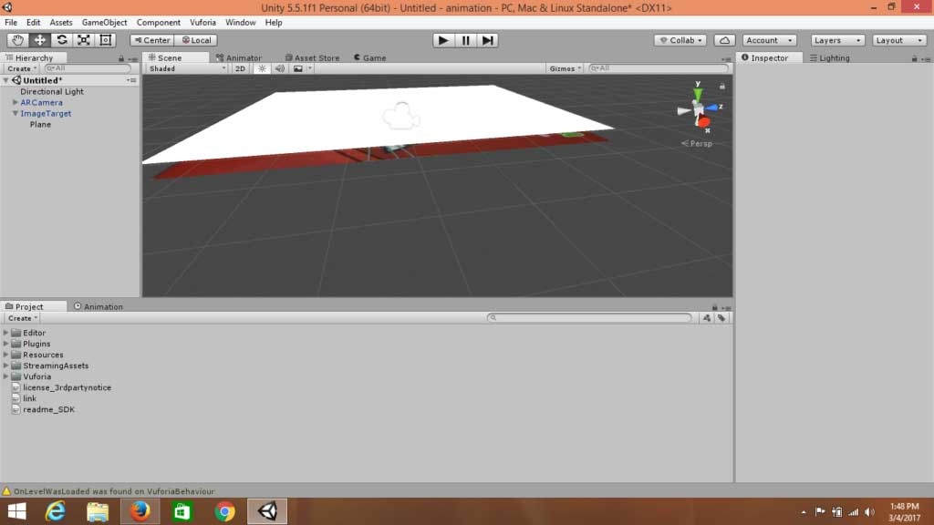 How to Create Animations in Augmented Reality With Unity | 3DR