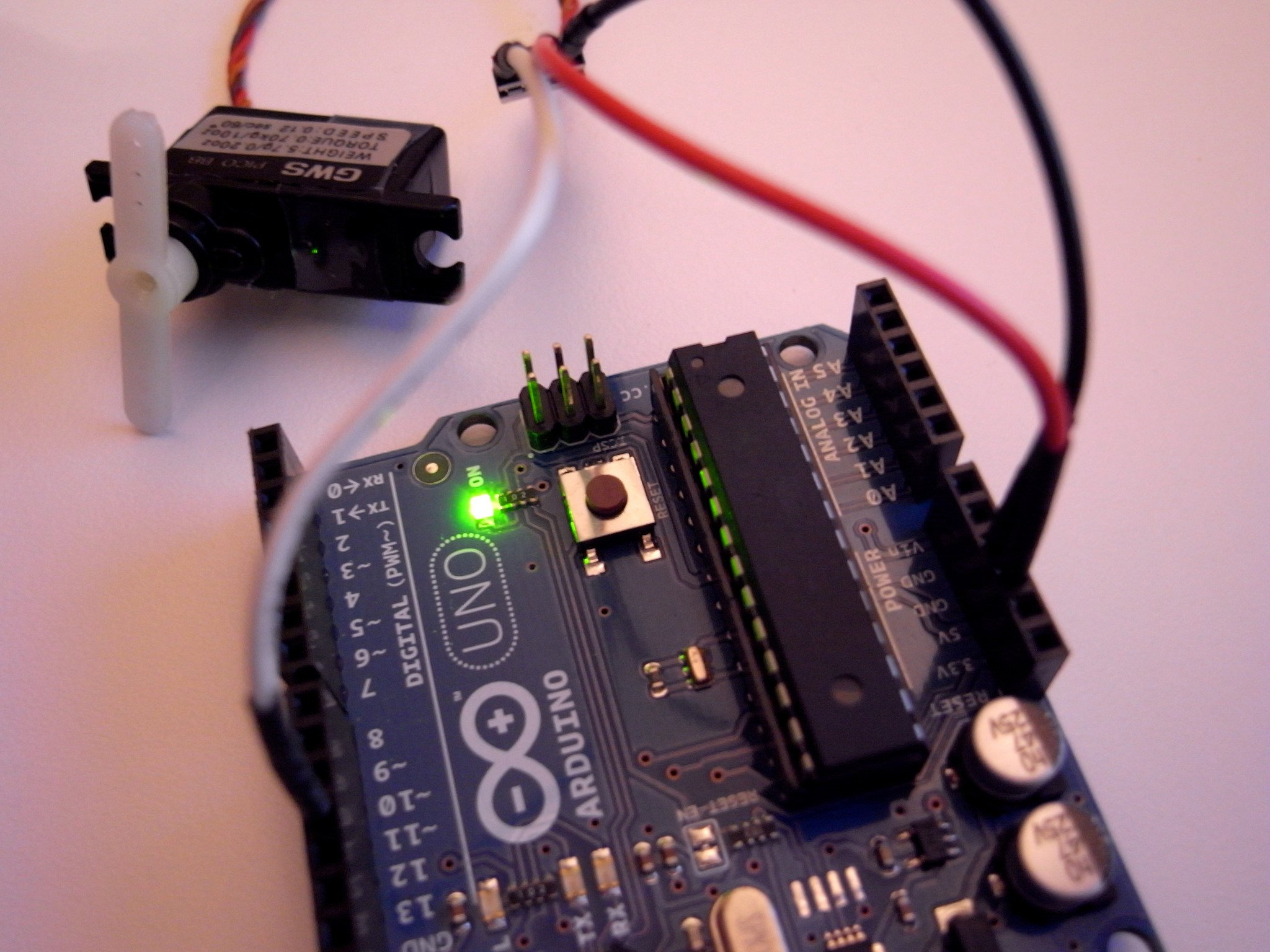 Learn to Control Servo Motors Using Sliders Through Arduino