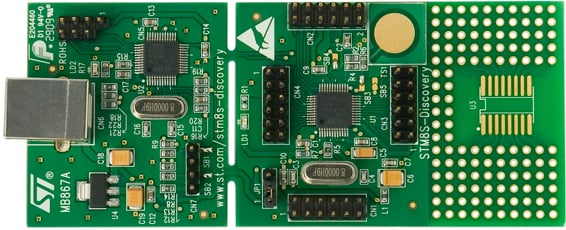Getting Started with STM8 Microcontrollers | Custom | Maker Pro