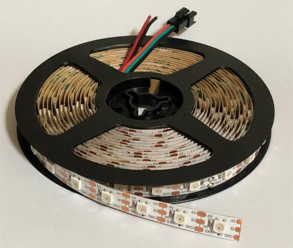 WS2812B LED strip spool