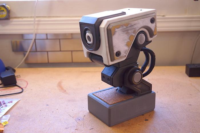 animatronic head build