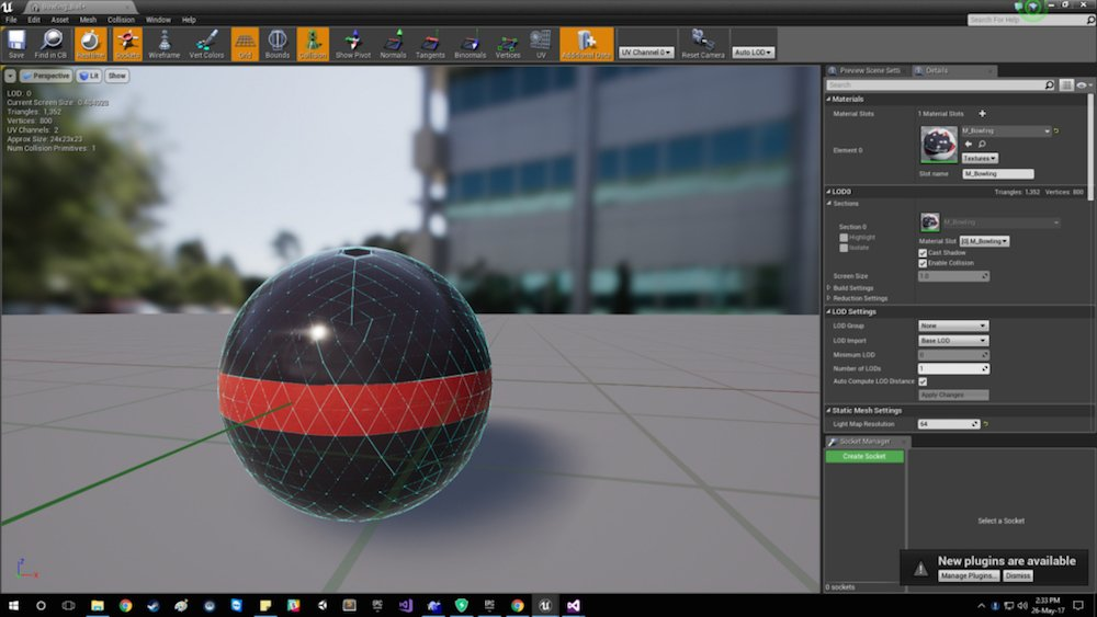 How to Create 3D Models in Unreal Engine 4 With
