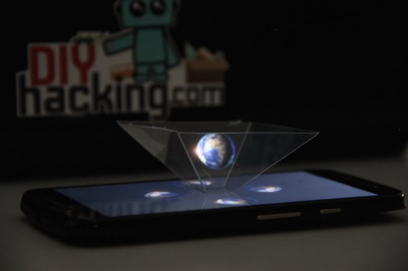 Make a 3D Hologram Pyramid for Your Smartphone | Custom ...