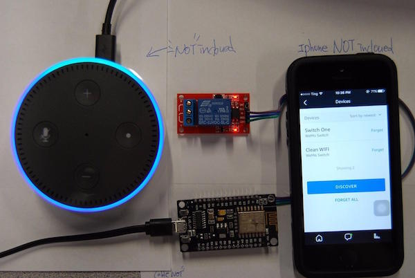 How to Control an LED or Relay With Amazon Alexa and Echo Dot