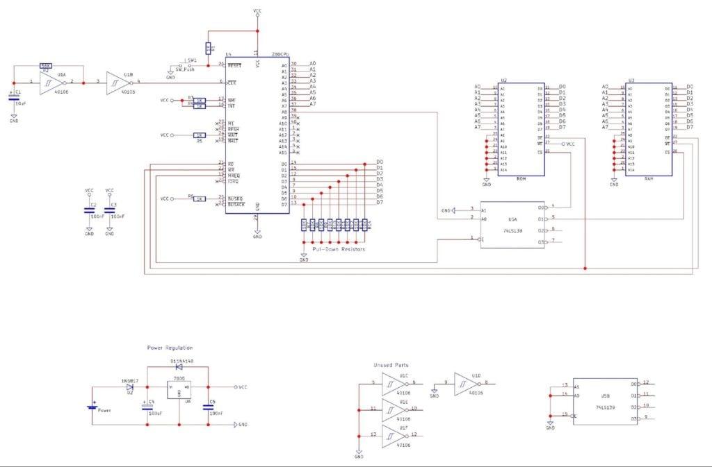 how to build a z80 computer part 2 memory pic maker pro. Black Bedroom Furniture Sets. Home Design Ideas