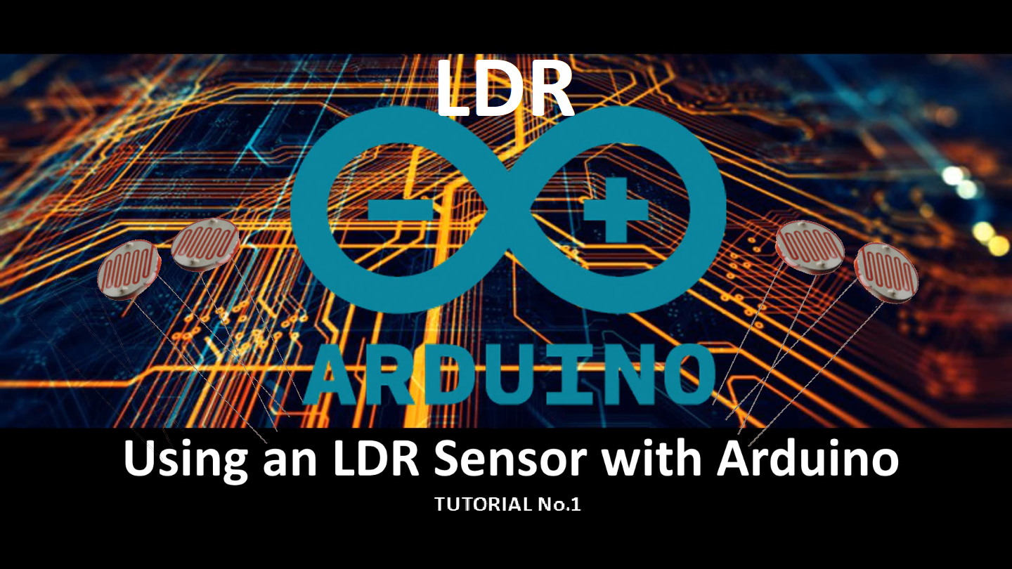 Using An Ldr Sensor With Arduino Maker Pro Light Dependent Resistor Circuit Diagram On A